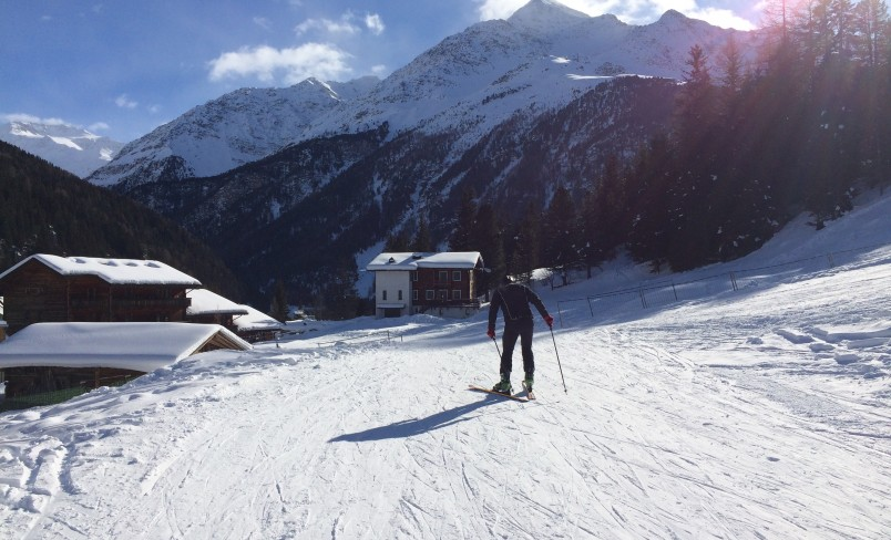 Skiing Holiday